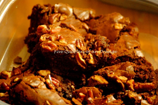I christened them as Rocky Brownies ....